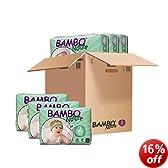 Bambo Mini Nappies (Size 2) 3-6kg, 6-13LB - 6 x packs of 30 (180 Nappies)