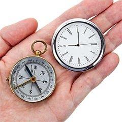 コンパスと時計でタイム・マネジメントを行う