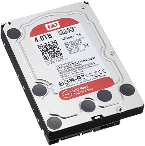WD HDD 内蔵ハードディスク 3.5インチ 4TB Red  WD40EFRX / IntelliPower / SATA6.0