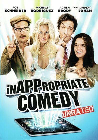 Inappropriate Comedy DVD