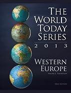 Western Europe 2013 (World Today (Stryker))…