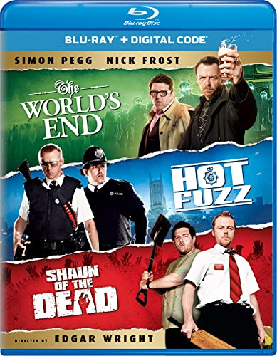 The World's End/Hot Fuzz/Shaun of the Dead Trilogy [Blu-ray]