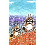 ぼのぼの FVGA(480×800)壁紙 アライグマくん