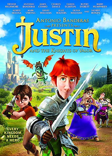 Justin & The Knights of Valour DVD