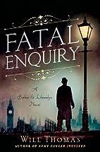 Fatal Enquiry: A Barker & Llewelyn Novel…