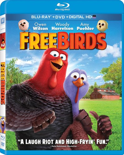 Get Free Birds On Blu-Ray