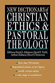 New Dictionary of Christian Ethics &…