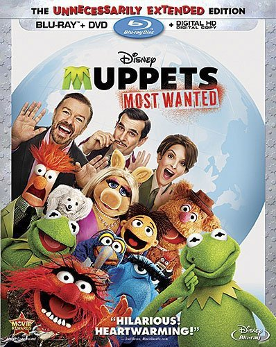 Muppets Most Wanted [Blu-ray] DVD