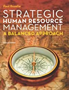 Strategic Human Resource Management by Paul…