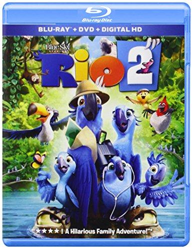 Rio 2 [Blu-ray] DVD