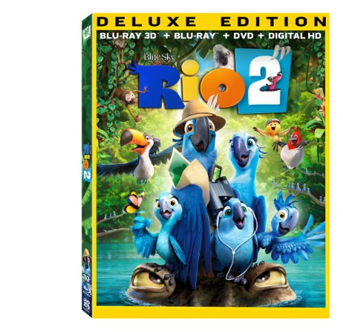 Get Rio 2 On Blu-Ray