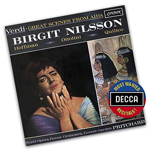 ビルギット・ニルソンが歌う 《アイーダ》 YouTube動画公開