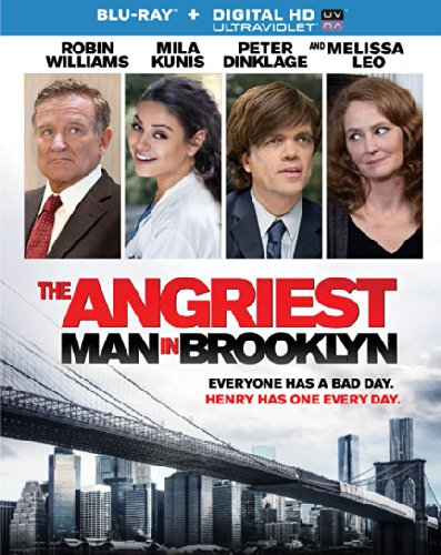 The Angriest Man in Brooklyn [Blu-ray] DVD