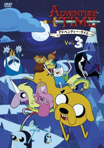 アドベンチャー・タイム シーズン1 Vol.3 [DVD]