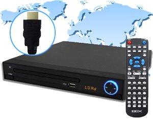 BEX リージョンフリー HDMIコンパクトDVDプレーヤー