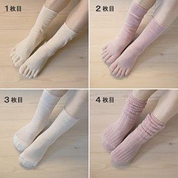 冷えとり靴下の履き方と順番