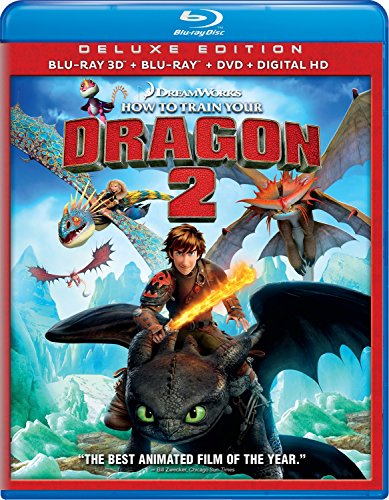 How to Train Your Dragon 2 [Blu-ray 3D + Blu-ray + Digital HD] DVD