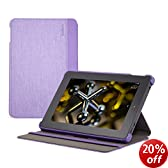 Belkin Shield Fit Chambray Case for Fire HD 7 (4th Generation), Purple
