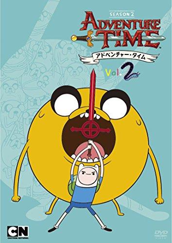 アドベンチャー・タイム シーズン2 Vol.2 [DVD]