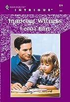 Innocent Witness by Leona Karr