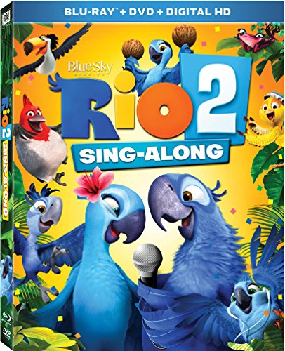 Rio 2 Sing-Along [Blu-ray] DVD