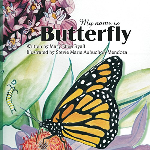 Book Cover - My Name is Butterfly