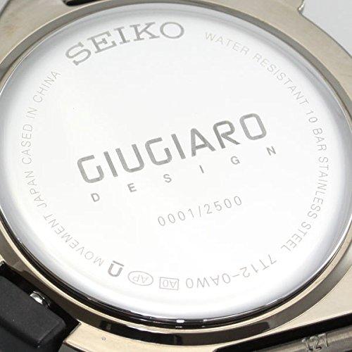 「SEIKO×GIUGIARO」ジウジアーロ第2弾モデル クオーツ ハードレックス