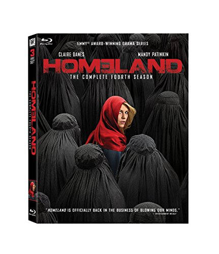 Homeland: Season 4 [Blu-ray] DVD