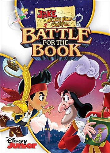 Jake & The Neverland Pirates: Battle for the Book DVD