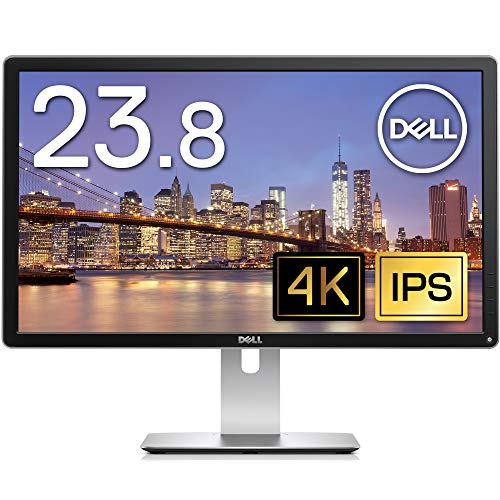 Dell 24型 4Kワイド液晶ディスプレイ Pシリーズ (3840x2160/60Hz/IPS非光沢液晶/6ms/ブラック) P2415Q