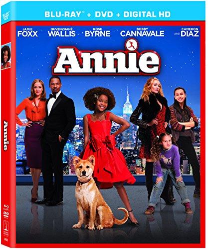 Annie [Blu-ray + DVD + UltraViolet Digital Copy] DVD