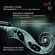 String Quartets – tekijä: Edward Elgar