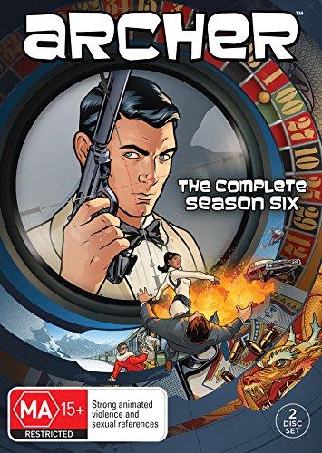Archer: Season 6 DVD