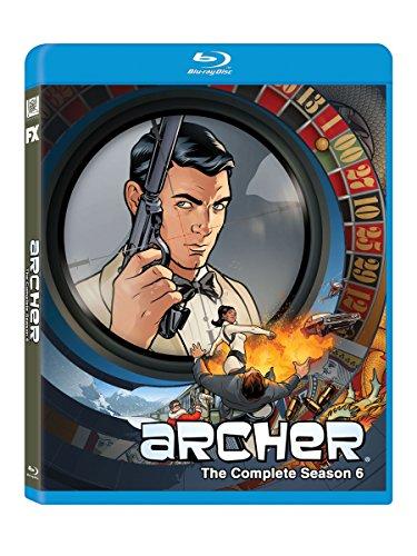 Archer: Season 6 [Blu-ray] DVD