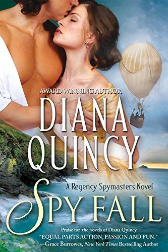 Spy Fall by Diana Quincy - Smart Bitches, Trashy Books