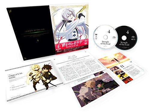 終わりのセラフ 第4巻(初回限定生産)(特典ラジオCD付) [DVD]