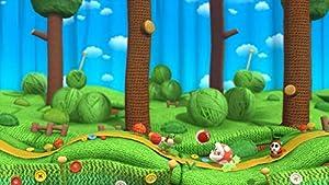 Screenshot: Yoshi's Woolly World