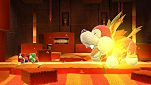 Screenshot: Yoshi's Woolly World