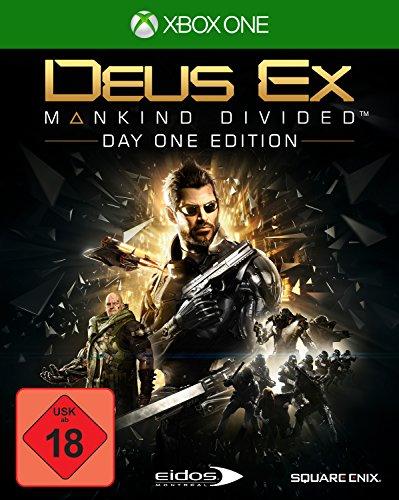 Deus Ex Mankind Divided - Day One Edition