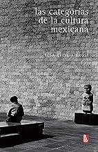 Las categorías de la cultura mexicana…
