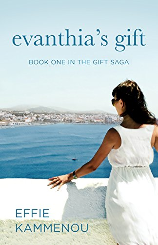 Book Cover - Evanthia's Gift: Book One in The Gift Saga