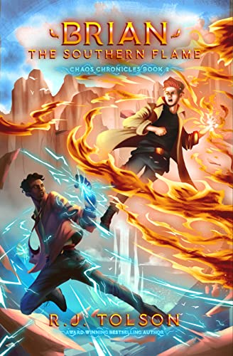 Book Cover - Hugh The Southern Flame (Chaos Chronicles: Book 2)