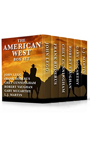 Book Cover - Best of the American West: Six Full Length Classic Westerns