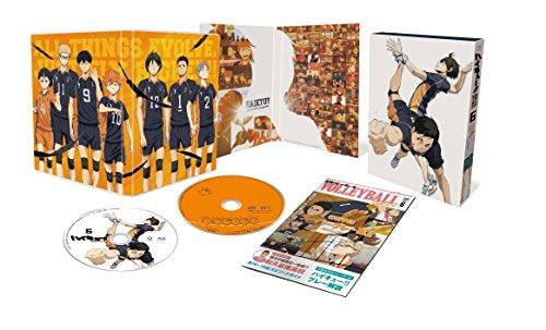 ハイキュー!!セカンドシーズン Vol.6 (初回生産限定版) [Blu-ray]
