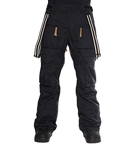 Colour Colour Colour Wear Herren Snowboardhose Suspend Pants, Schwarz, XL 867a84
