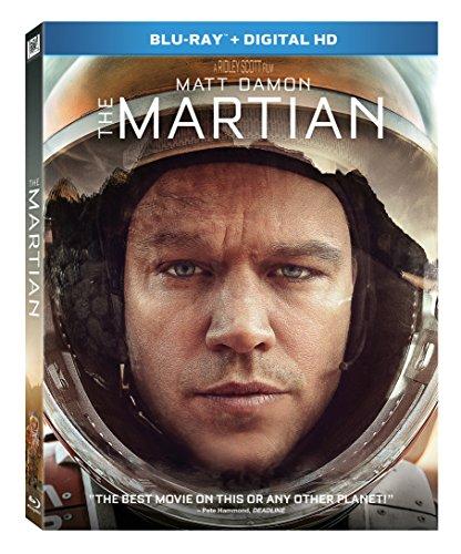The Martian [Blu-ray + Digital HD] DVD