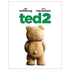 【Amazon.co.jp限定】テッド2 スチール・ブック仕様ブルーレイ+DVDセット(2枚組) [Blu-ray]