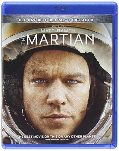 The Martian [Blu-ray 3D + Blu-ray + DVD] DVD