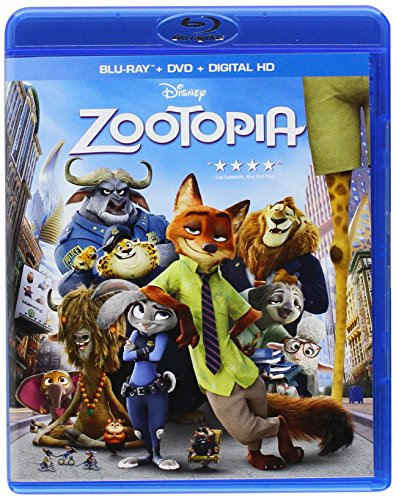 Get Zootopia On Blu-Ray