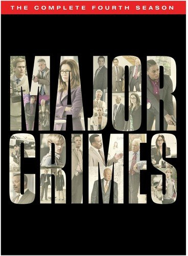 Major Crimes: The Complete Fourth Season DVD